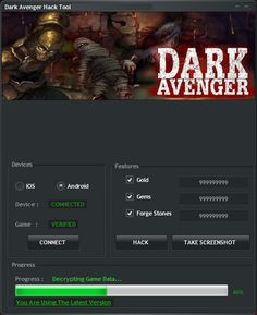 New Dark Avenger Hack – Unlimited Gold download working tool undetected.File updated 2016. No survey download new for Dark Avenger Hack – Unlimited Gold