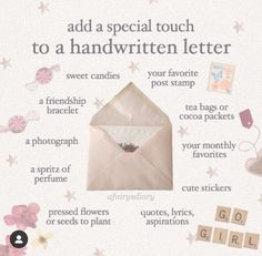 Pen Pal Letters, Love Letters, Letters Mail, Snail Mail Pen Pals, Snail Mail Gifts, Princess Aesthetic, Handwritten Letters, Happy Mail, Letter Writing