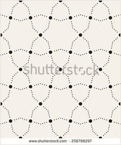 Vector seamless pattern Modern stylish texture from circles Repeating geometric tiles with dotted stars and bold circles in nodes Contemporary graphic design - Shutterstock