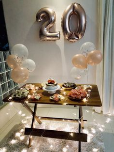 16 Ideas birthday ideas for her diy Birthday Party Decorations For Adults, Birthday Ideas For Her, Birthday Goals, 18th Birthday Party, Tumblr Birthday, Instagram, Happy, Home Parties, Birthday Party Themes