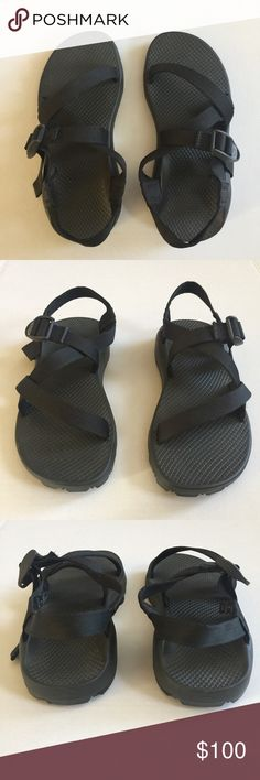Chaco Women's Black Sandals Size 8 Excellent used condition from a smoke free and pet free home. 1 business day shipping. Please message me if you have questions about this item. I am happy to assist you. No signs of wear. Chaco Shoes Sandals