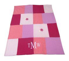 Namely Newborns - Cashmere Baby Blanket - Pink Handcrafted baby blanket, $180.00 (https://www.namelynewborns.com/cashmere-baby-blanket-pink-handcrafted-baby-blanket/)