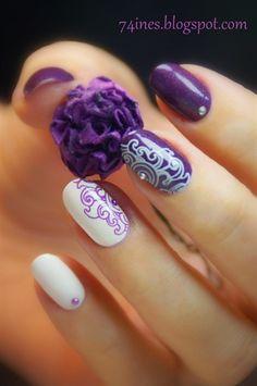 I'll+Be+There+For+You+by+74ines+-+Nail+Art+Gallery+nailartgallery.nailsmag.com+by+Nails+Magazine+www.nailsmag.com+#nailart