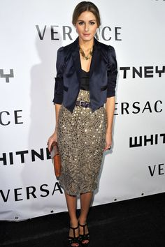 See how Olivia Palermo's style has evolved in the fashion spotlight