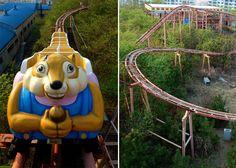 Parques de diversiones abandonados, Okpo Land en Corea del Sur - http://vivirenelmundo.com/parques-de-diversiones-abandonados-okpo-land-en-corea-del-sur/4636 #OkpoLand, #ParquesDeDiversiones, #SitiosDeTerror