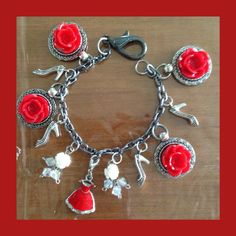 Lady In Red by MarlenesCraftHouse on Etsy