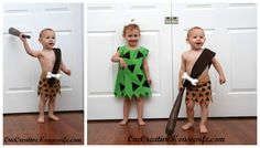 Pebbles and BamBam Flintstones themed Homemade Costume  sc 1 st  Pinterest & Discover Bambam costumes ideas on Pinterest | Halloween prop ...