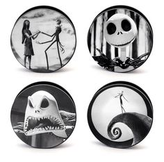 Nightmare before Christmas gauges