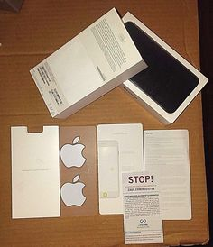 iPHONE 7 PLUS BLACK 32GB **********BOX ONLY*********** REPLACEMENT BOX ONLY #APPLE