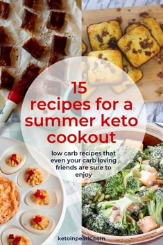 Hosting a keto cookout is easy with these 15 low carb bbq recipes that all of your carb loving friends are sure to love. Including keto cornbread and bbq! Check out this post of some amazing keto recipes that everyone will enjoy! Keto Friendly Desserts, Low Carb Desserts, Paleo Recipes, Low Carb Recipes, Ketogenic Recipes, Banting Recipes, Kitchen Recipes, Lunch Recipes, Cookout Food