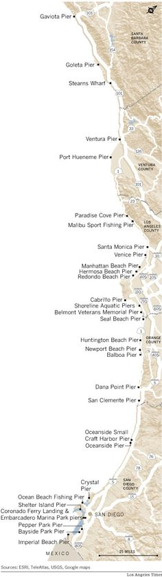 Now that I am moving to Southern California I need to visit all the Piers... Visit every pier in 2014!?