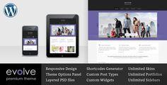 Evolve - Responsive Multipurpose WordPress theme