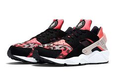 timeless design efa27 ee78f Nike Air Huarache Hyper Pink Wolf Grey-Black