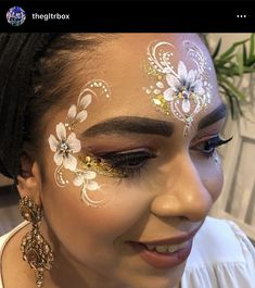 Face Painting Flowers, Eye Face Painting, Adult Face Painting, Face Painting Designs, Body Painting, Face Paintings, Henna Paint, Festival Paint, Beauty Makeup