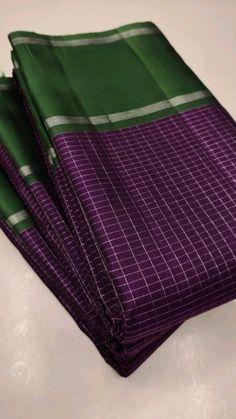 Chanderi Silk Saree, Silk Cotton Sarees, Kanchipuram Saree, Chiffon Saree, Cotton Saree Blouse Designs, Bridal Blouse Designs, Kerala Saree, Indian Sarees, Latest Silk Sarees