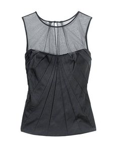 Silk and tulle bustier tank, White House | Black Market, $98, at select White House | Black Market