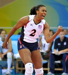 Danielle Scott-Aruda, 2012 U.S. Olympic Women's Volleyball Team - Volleyball Slideshows | NBC Olympics