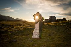 Rocky Mountain National Park Wedding Sunflare
