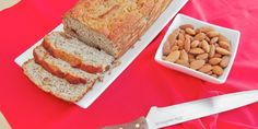 Almond Milk & Loaf … waste not, want not {using almond pulp after making milk}