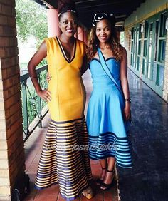 African Print Skirt, African Print Dresses, African Dress, African Prints, African Attire, African Wear, African Women, African Style, Sotho Traditional Dresses