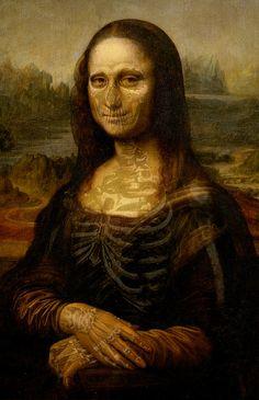 The Bona Lisa Painting  - The Bona Lisa Fine Art Print