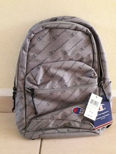 5093148efbf0 NEW CHAMPION The Mini Supercize Cross-Over Backpack One Size in Grey- SALE   fashion  clothing  shoes  accessories  unisexclothingshoesaccs ...