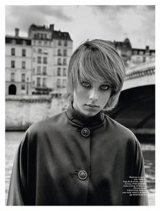Vogue Paris September 2014 | Edie Campbell by Alasdair McLellan