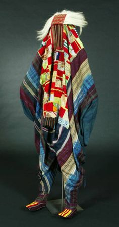 Africa | Egungun masquerade dance garment from the Yoruba people of Nigeria | ca. 1950 - 1960.