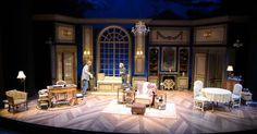My Old Lady. Palm Be - My Old Lady. Palm Beach Dramaworks. Scenic design by K…