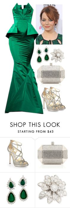 """""""Untitled #3650"""" by natalyasidunova ❤ liked on Polyvore featuring Jimmy Choo, Forever New, Maria Canale, women's clothing, women, female, woman, misses and juniors"""
