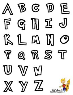 Pokemon Alphabet Coloring Chart.. You Can Print Out This #Alphabet #Coloring_Page Now... http://www.yescoloring.com/images/Preschool_Alphabet_Coloring_Pages_all_coloringkidsboyscom.gif