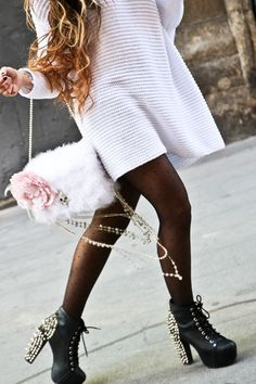 Angela Rozas Saiz, Spanish Fashion Blogger. Blog: madamerosa.com