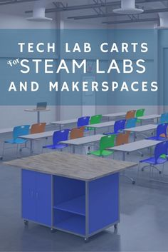 STEM labs and technology spaces need durable workbenches. Contact Interior Concepts today for a mobile cart for your lab! Mobile Library, Mobile Workbench, Autodesk Inventor, Lab Tech, Art Rooms, Maker Space, Interior Concept, Classroom Environment, Library Design