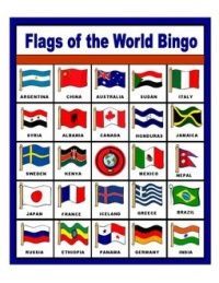 Flags of the World Bingo Around The World Theme, Flags Of The World, Olympic Idea, Olympic Games, My Father's World, We Are The World, Harmony Day, Olympic Crafts, Olympics Opening Ceremony