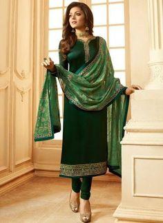 Grab Latest Churidar, Anarkali, Party Wear & EiD Festival Salwar Kameez Online with Flat OFF. Use Discount Code: Hurry up & shop Salwar Kameez. Eid Dresses, Indian Dresses, Indian Outfits, Casual Dresses, Pakistani Dresses, Indian Sarees, Stylish Dresses, Dresses Online, Salwar Kameez