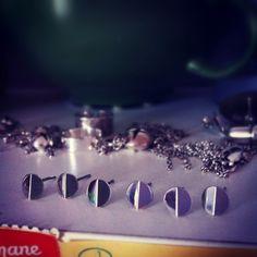 Stars Silver Earrings