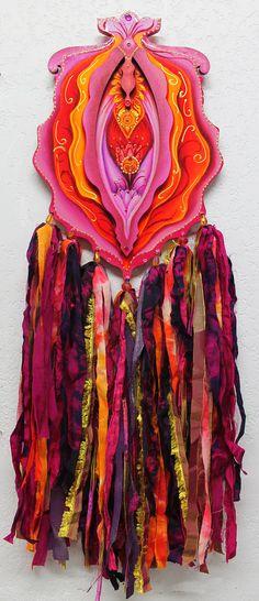 Maduro, flores exóticas del divino arte femenino, Sensual flor de Yoni, de Vulva, Yoni, chakra raíz, chakra sacro, embellecieron yoni impresión