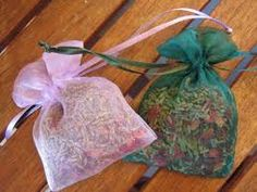 Bay leaves - Removes negative energy, and protects.   Celery - Increases Physical and Mental powers.   Mustard Seed - Protection, Mental powers and Faith.   Rose Petals - Love and luck.   Rosemary - love, banishing and protection.   Allspice - Protection.   Chamomile - sleep, soothing and relaxation.  and i always add lavender to mine because of the calming scent:)