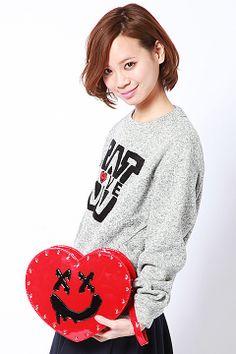 Heart bag / World Wide Love NGハートスマイルBAG shopstyle.co.jp