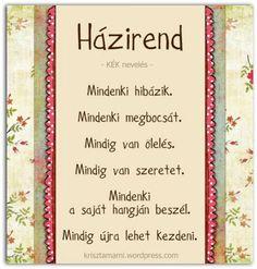 HÁZIREND