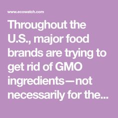 Detailed explanation on dangers of the impossible burger.   the U.S., major food brands are trying to get rid of GMo necessarily for the right reasons, but because nearly half of consumers say they avoid them in their food, primarily for health reasonsBut the CEO of Impossible Foods, purveyor of the Impossible Burger, is bucking that trend by announcing plans to use GMO soy.