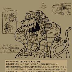 Aeshi Nero - Metal Slug 2 stage 2 Boss