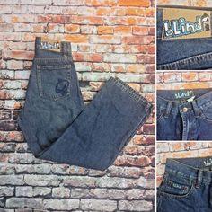 Blind Brand Boy's Jeans sz W24 25L dark wash 5 pocket  RN40751 very good cond.  | eBay