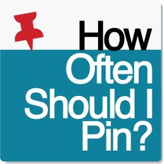 Social media marketers have known what the best and worst times to post to Pinterest but the more pressing question is how often should I pin? Social Media Digital Marketing, Online Marketing, Pinterest For Business, Online Business, Business Tips, Pinterest Marketing, 6 Years, Blogging, Times