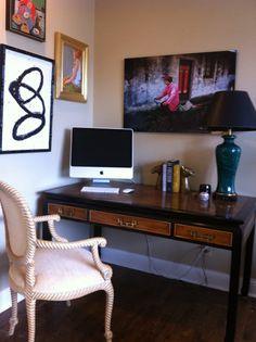 My Interior Life - my vintage Chin Hua desk by Century