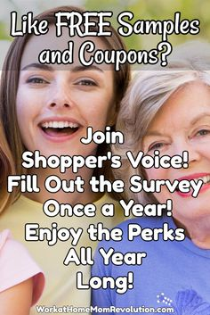 Do you enjoy being rewarded with free samples, money-saving coupons, and special offers? If so, then you should definitely check out Shopper's Voice! If you enjoy sharing your opinion and influencing the brands you love, then this is a super opportunity! You only fill out the survey once a year, but enjoy the benefits all year long! #free #coupons