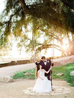 Southern California Wedding Ideas and Inspiration: Rustic Chic Garden Wedding at Maravilla Gardens