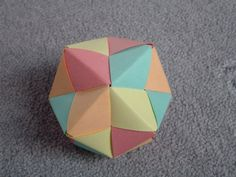 Easy Modular Origami Dodecahedron Istructions - Bing images