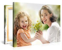 Dein foto auf leinwand. Muttertags-Liefergarantie. http://www.meinfoto.de/wand-deko/foto-auf-leinwand.jsf  #meinfoto #fotoaufleinwand #wanddeko