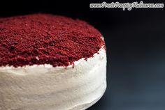 Red velvet cake. Przepis: http://www.prosteprzepisykulinarne.com/2013/01/red-velvet-cake.html